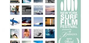 THE 2012 NEW YORK SURF FILM FESTIVAL PRESENTED BY BARBADOS ANNOUNCES INTERNATIONAL FILM PROGRAM